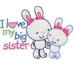 I Love My Big Sister Bunnies