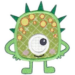My Monster Applique 12