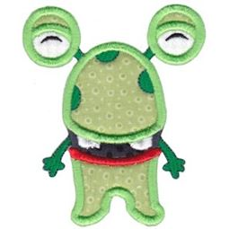 My Monster Applique 4