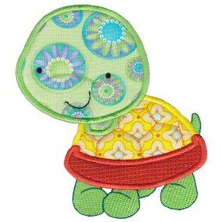 Pet Turtle Applique