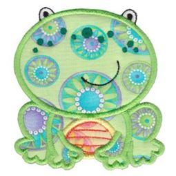 Pet Frog Applique