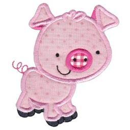 Pet Pig Applique