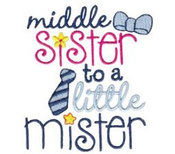 Middle Sister To A Little Mister