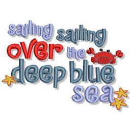 Sailing Over the Deep Blue Sea