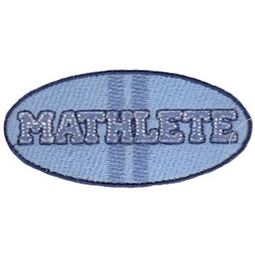 Filled Stitch Mathlete