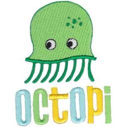 Filled Stitch Octopi