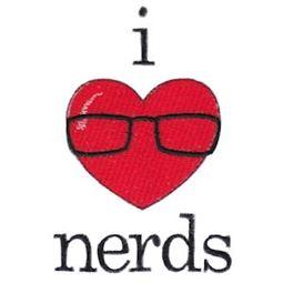 Filled Stitch I Love Nerds