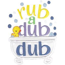 Rub A Dub Dub