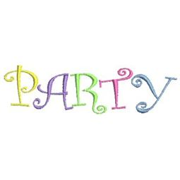 Party Time Applique 14