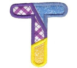 Patches Alphabet Applique T