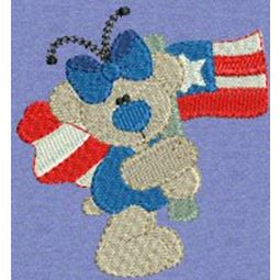 Patriotic Butterfly Bears 6