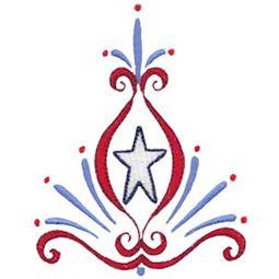 Patriotic Swirls 12