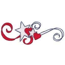 Patriotic Swirls 16