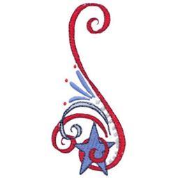 Patriotic Swirls 9