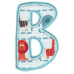 Patty Cake Alpha Applique Capital B