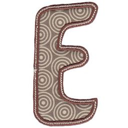 Patty Cake Alpha Applique Capital E