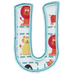 Patty Cake Alpha Applique Capital U