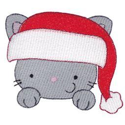 Santa Hat Cat