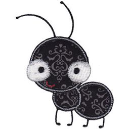 Standing Ant Applique