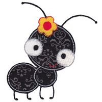 Girl Ant Applique