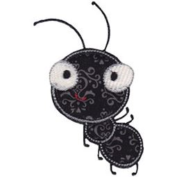 Waving Ant Applique