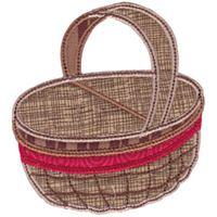 Picnic Basket Applique