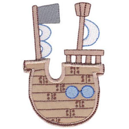 Pirate Ship Pocket