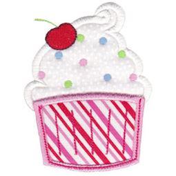 Swirly Cupcake Pocket