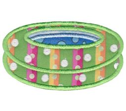 Pool Party Applique 1