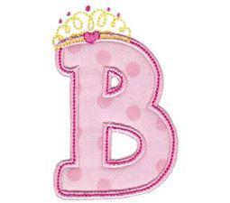 Princess Alpha Applique B