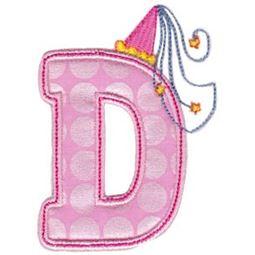 Princess Alpha Applique D