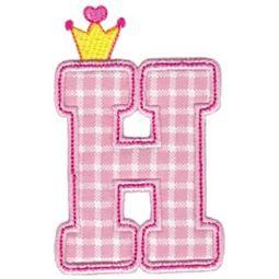 Princess Alpha Applique H