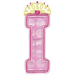 Princess Alpha Applique I