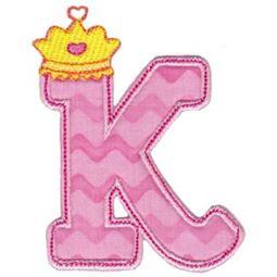 Princess Alpha Applique K