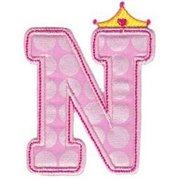 Princess Alpha Applique N