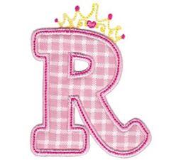 Princess Alpha Applique R