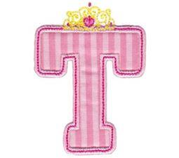 Princess Alpha Applique T