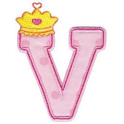 Princess Alpha Applique V