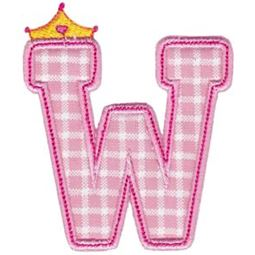 Princess Alpha Applique W