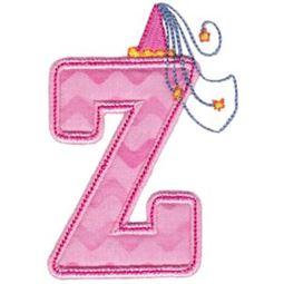 Princess Alpha Applique Z