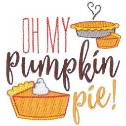 Oh My Pumpkin Pie