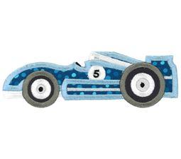 Race Cars Applique 2 5x7