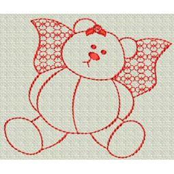 Redwork Bears 16