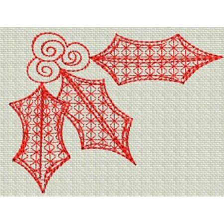 Redwork Christmas 14