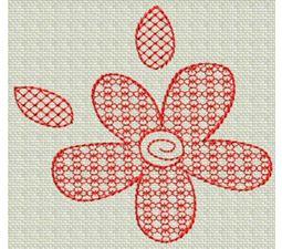 Redwork Christmas 16