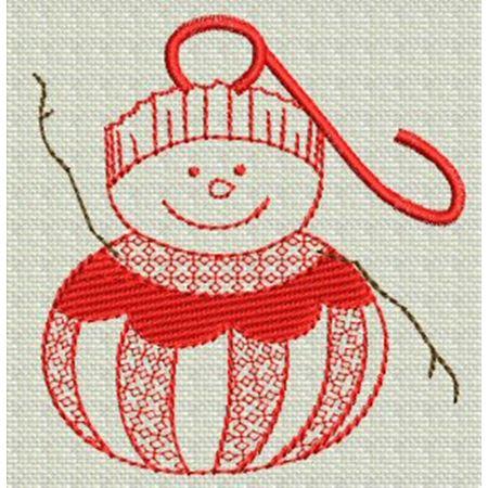 Redwork Christmas 3