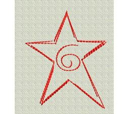 Redwork Christmas 4