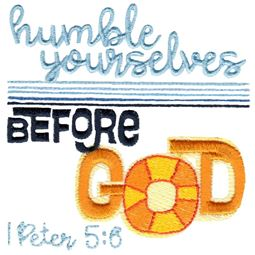 1 Peter 5 Humble Yourselves Before God