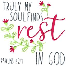 Psalms 62 1 Find Rest In God