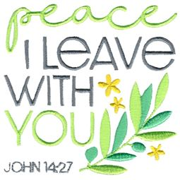 John 14 27 Peace I Leave With You